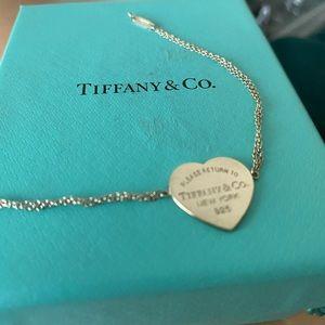 Return to Tiffany heart tag Bracelet in Silver